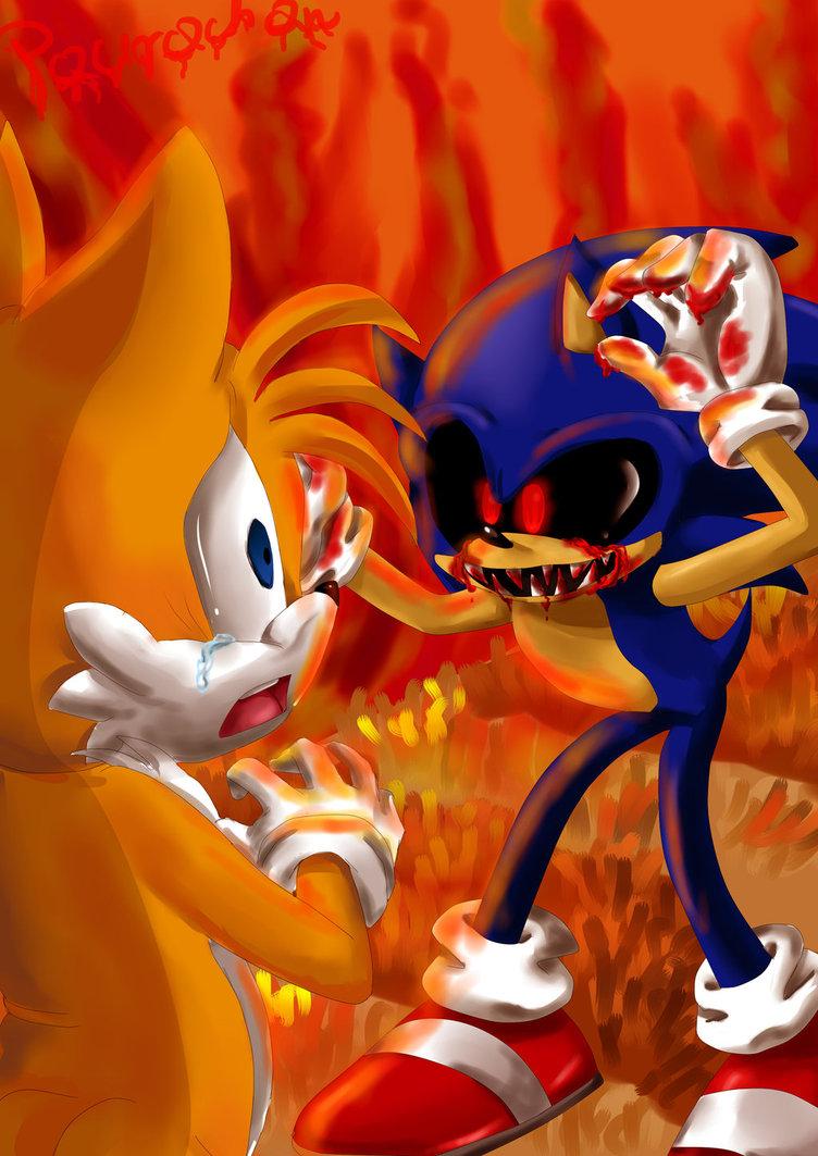 Best Sonic EXE Fan Art