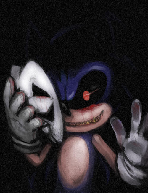 Sonic.exe unmasked evil