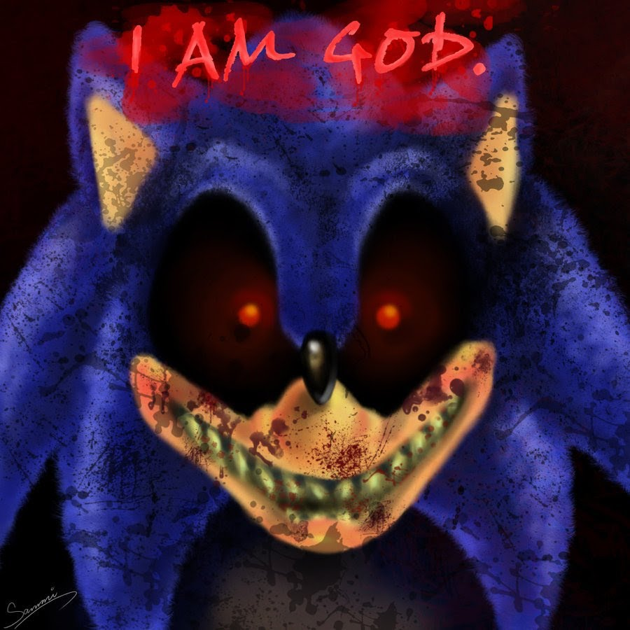 Sonic.exe I Am GOD