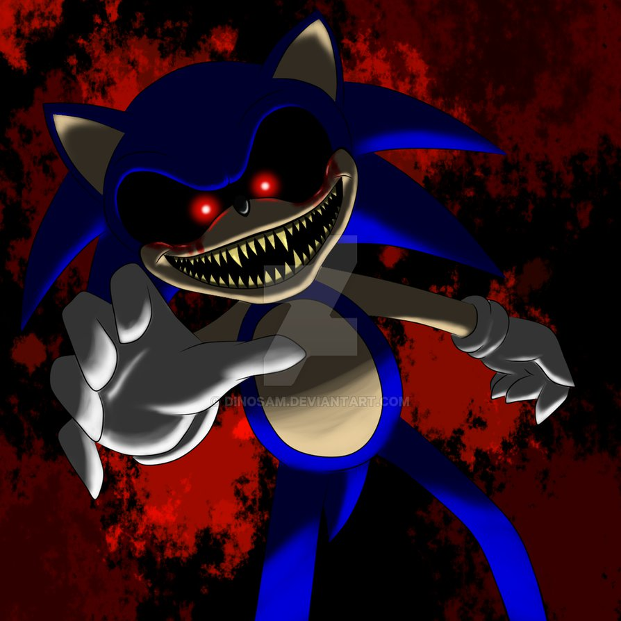 Scary Creepy Sonic.EXE smile