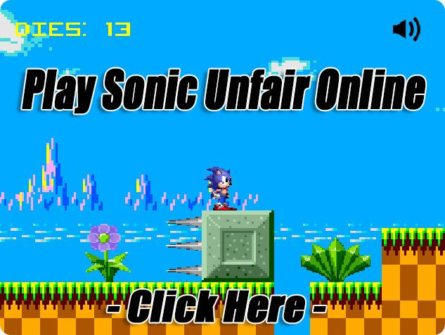 Play Sonic Unfair Online Official