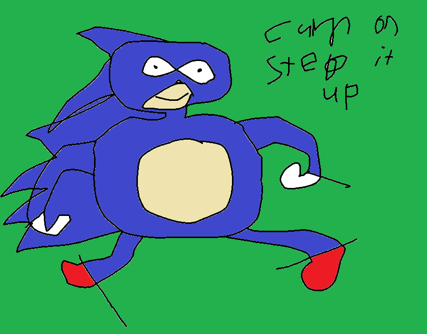 Sanic Cum Step Up